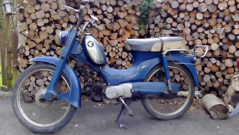 1963 Honda C310S BELGIUM
